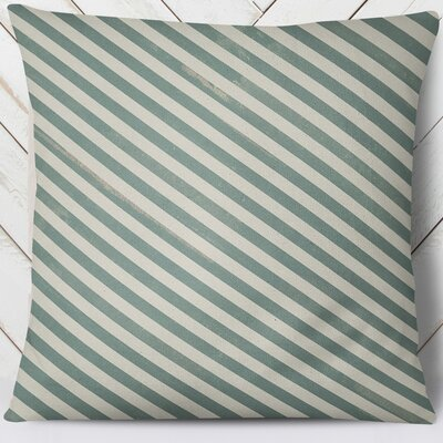 Mellina Throw Pillow Size: 26 H x 26 W, Color: Green
