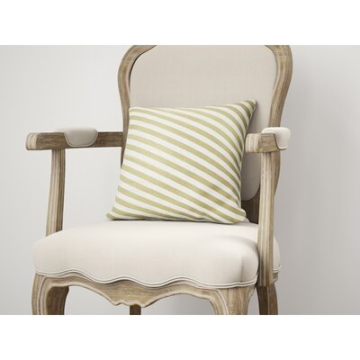 Mellina Throw Pillow Size: 22 H x 22 W, Color: Yellow