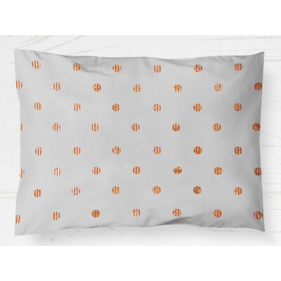 Victoire Pillow Case Size: 20 H x 30 W, Color: Orange