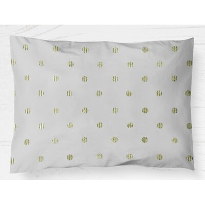 Victoire Pillow Case Size: 20 H x 30 W, Color: Green