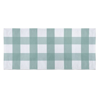 Ophelie Beach Towel Color: Teal