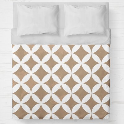 Persephone Lightweight Duvet Cover Size: Twin, Color: Orange