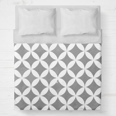 Persephone Lightweight Duvet Cover Size: Twin, Color: Gray