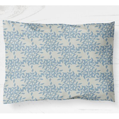 Palmyra Pillow Case Size: 20 H x 40 W, Color: Blue