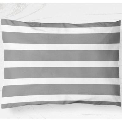 Saybrook Lightweight Pillow Sham Size: King, Color: Gray