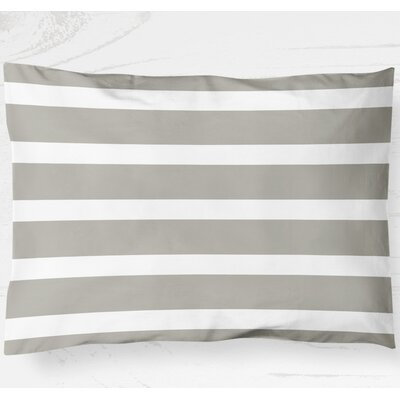 Saybrook Lightweight Pillow Sham Size: King, Color: Smoke