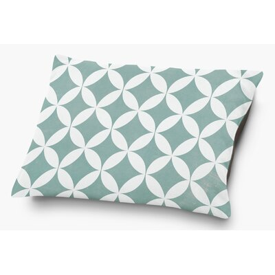 Persephone Pet Pillow with Super Plush Poly Top Color: Teal