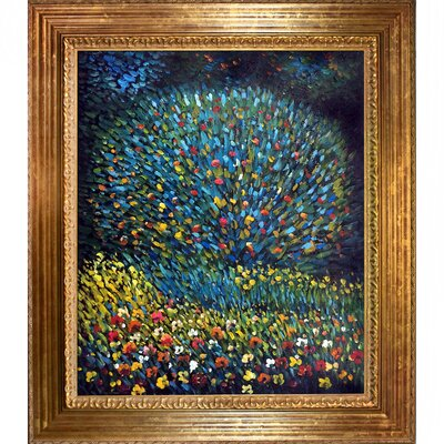Apple Tree I by Gustav Klimt Framed Painting CST10689 13739584