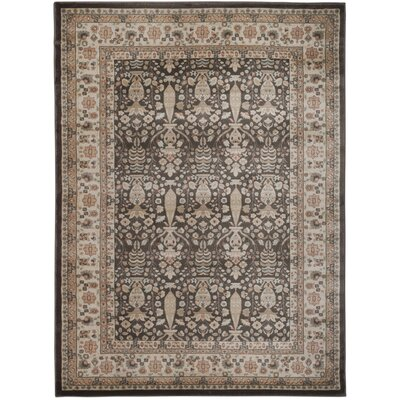 Garda Brown Area Rug Rug Size: 33 x 411