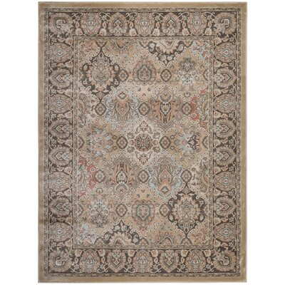 Garda Beige Area Rug Rug Size: Rectangle 710 x 106