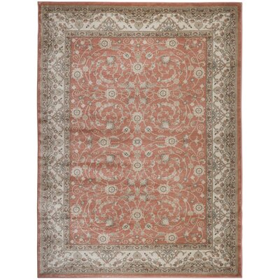 Garda Red Area Rug Rug Size: 710 x 106
