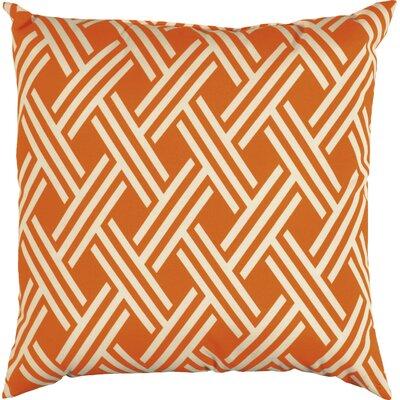Clarisse Indoor/Outdoor Floor Pillow Color: Tangerine