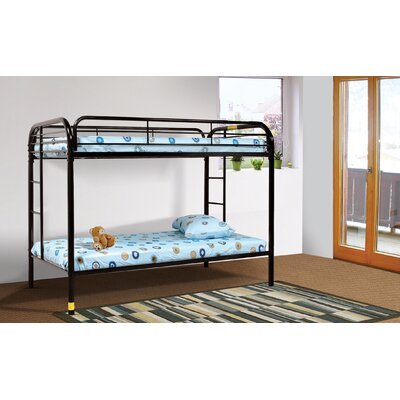 Tanner Twin Bunk Bed Finish: Black