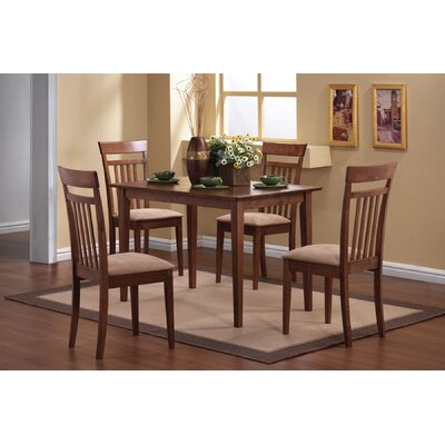 Mason 5 Piece Dining Set Finish Cherry