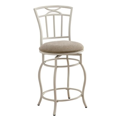 Maudie Swivel Bar Stool Seat Height: 24