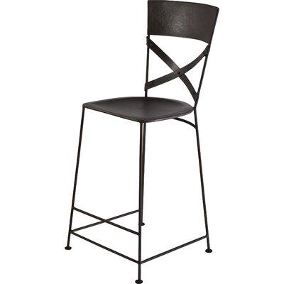 Jabalpur 26 Bar Stool Upholstery: Zinc