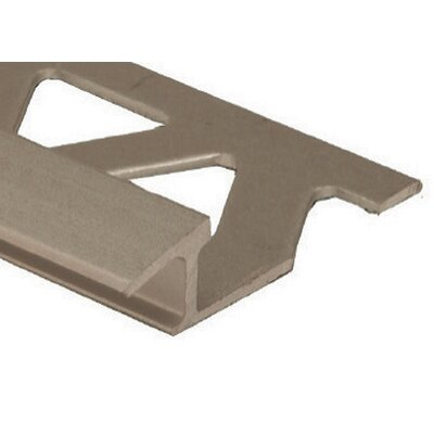 96 Cove Base Flat Edge Tile Trim in Titanium