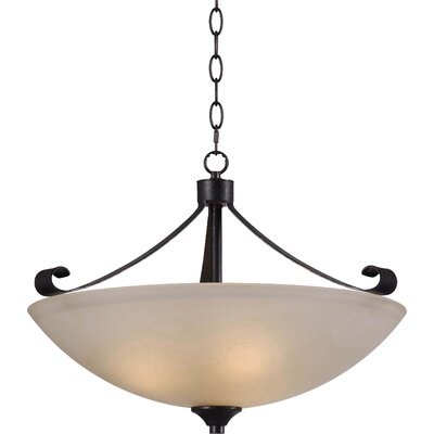 Alto 3-Light Bowl Pendant
