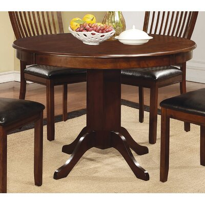 Dining Table Finish Reddish Brown