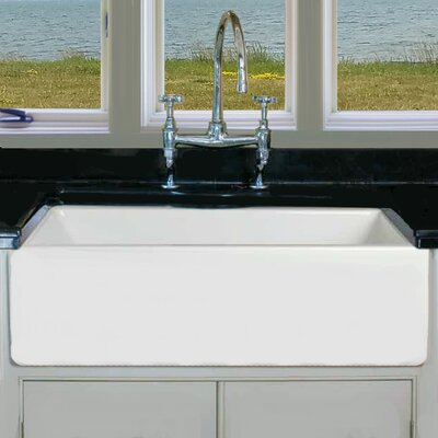 29.75 x 18 Fireclay Apron Kitchen Sink