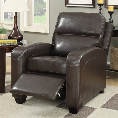 Braesgate Pushback Recliner Color: Espresso