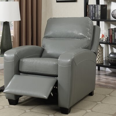 Braesgate Pushback Recliner Color: Gray
