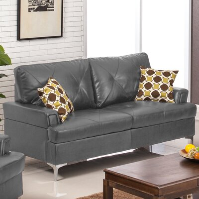 Walker Sofa Upholstery: Gray