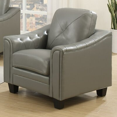 Behrends Club Chair Upholstery: Gray