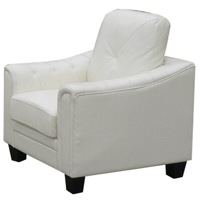 Behrends Club Chair Upholstery: White
