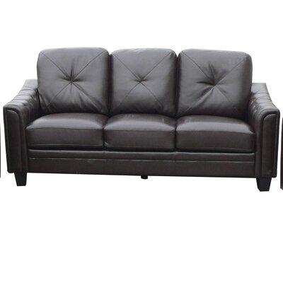 Clendenin Sofa Upholstery: Chocolate