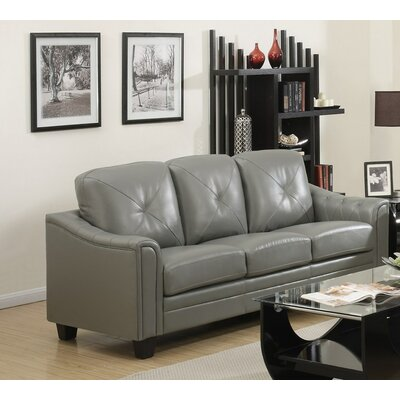 Walden Sofa Upholstery: Gray