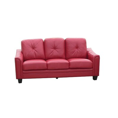 Walden Sofa Upholstery: Red