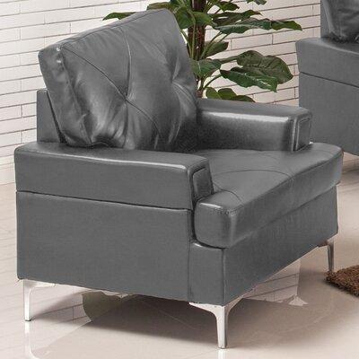 Elma Armchair Upholstery: Gray