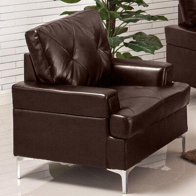 Elma Armchair Upholstery: Chocolate