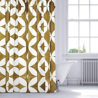 Persephone Shower Curtain Color: Orange