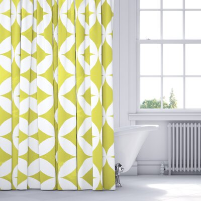 Persephone Shower Curtain Color: Yellow