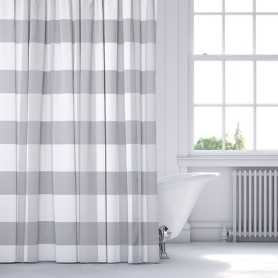 Wysocki Shower Curtain Color: Gray