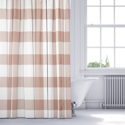 Wysocki Shower Curtain Color: Pink