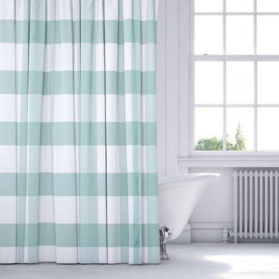 Wysocki Shower Curtain Color: Teal