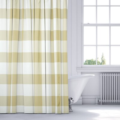 Ophelie Shower Curtain Color: Yellow