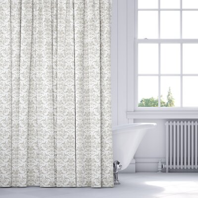 Diana Shower Curtain Color: Gray