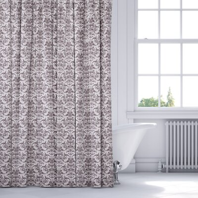 Diana Shower Curtain Color: Plum