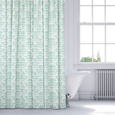 Diana Shower Curtain Color: Green