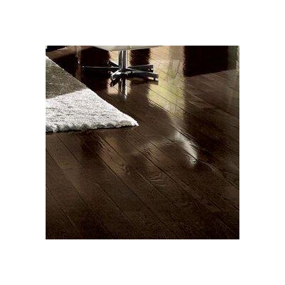 5 Engineered Oak Hardwood Flooring in Blackened Brown