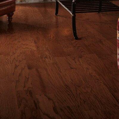 5 Engineered Red Oak Hardwood Flooring in Dakota Cherry