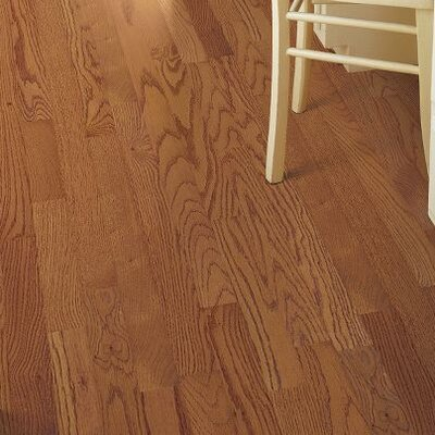 2-1/4 Solid Ash Hardwood Flooring in Butterscotch