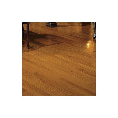 2-1/4 Solid Oak Hardwood Flooring in Butter Rum and Toffee