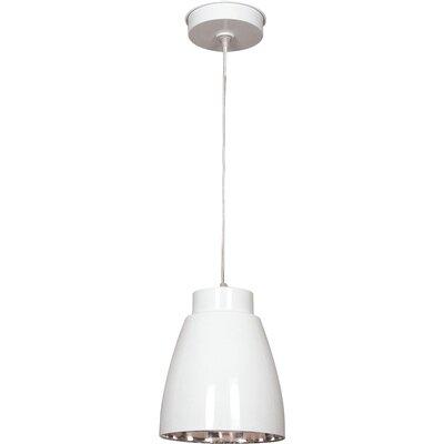 Silo 1-Light Mini Pendant Finish: White