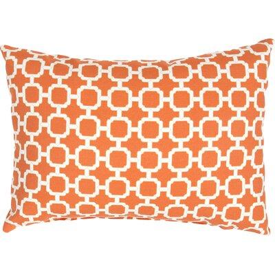 Ashburton Indoor/Outdoor Throw Pillow Color: Orange