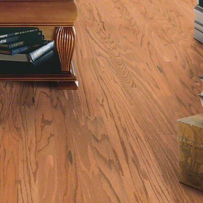 3-1/4 Engineered Oak Hardwood Flooring in Butter Rum